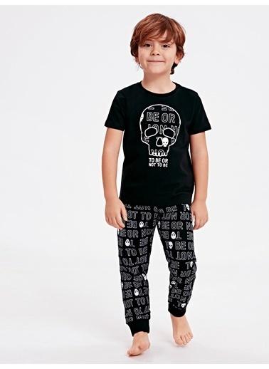 LC Waikiki Pijama Takım Siyah